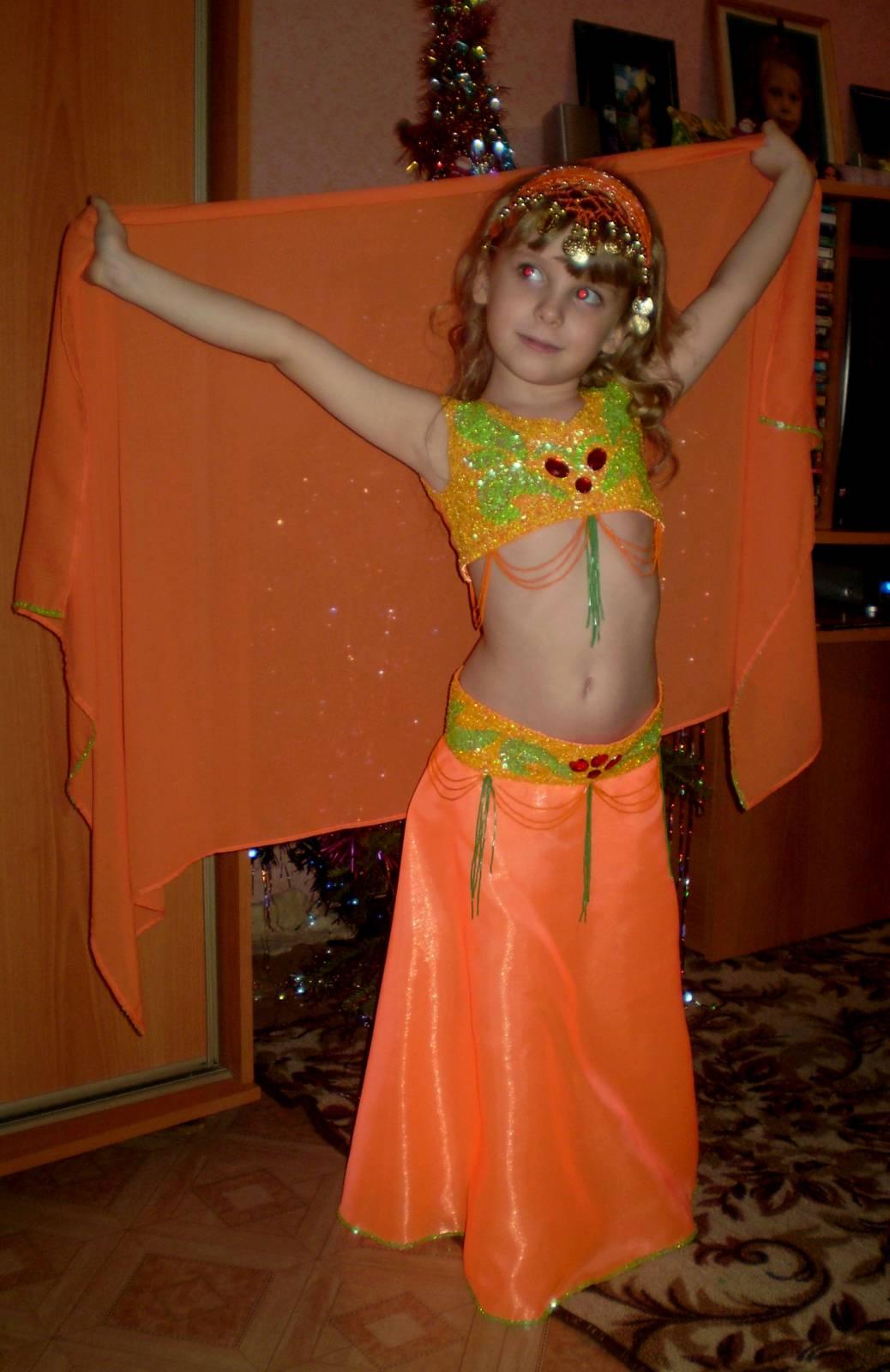Костюм для восточных танцев для девочки своими руками 87